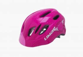 Otroška kolesarska čelada Limar Kid PRO M- Heart Pink