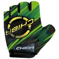 Otroške kolesarske rokavice Chiba Kids-Apple Green