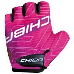 Otroške kolesarske rokavice Chiba Kids-Pink/Magenta