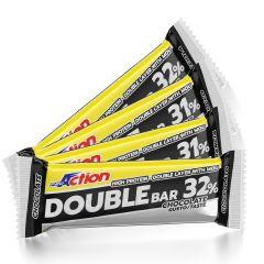 Energijska ploščica Pro Action Double Bar Protein 31% 60g