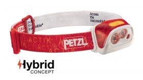 Naglavna svetilka Petzl Actik Core-red