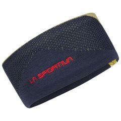 Pleten naglavni trak La Sportiva Knitty Headband - Night Blue/Cedar