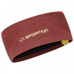 Pleten naglavni trak La Sportiva Knitty Headband - Spice/Tango Red