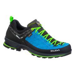 Pohodni čevlji Salewa MTN Trainer 2 GTX - Blue Danube/Fluo Green