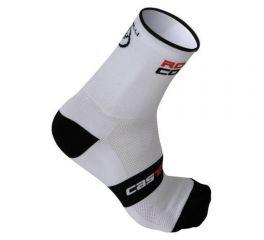 Kolesarske nogavice Castelli Rossocorsa 9- White