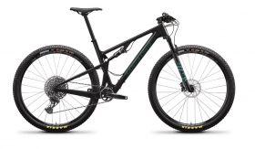 Gorsko kolo Santa Cruz Blur 3 C S-kit 2021- Gloss Carbon/Aquarius Green