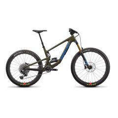 Gorsko kolo Santa Cruz Bronson 4 CC X01-Kit AXS RSV 2022 - Gloss Moss