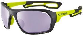 Sončna očala Cebe Upshift - Matt Black/Lime Sensor