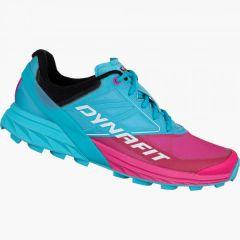 Ženski tekaški čevlji Dynafit Alpine - Turquoise/Pink Glo