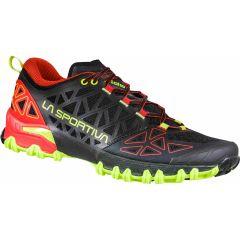 Tekaški čevlji LaSportiva Bushido II - Black/Goji
