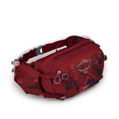 Kolesarska torbica Osprey Seral 7- Claret Red