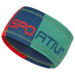 Trak La Sportiva Diagonal Headband - Poppy/Opal