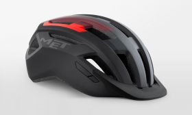Kolesarska čelada MET Allroad-Black/Red