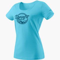 Ženska majica Dynafit Graphic - Silvretta