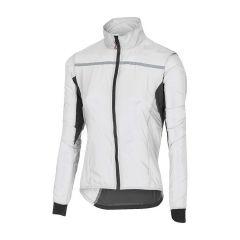 Ženska kolesarska jakna Castelli Superleggera-bela