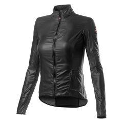 Ženska kolesarska jakna Castelli Aria-Dark Grey
