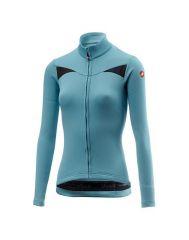 Ženska kolesarska jakna Castelli Sinergia - Celeste