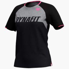 Ženska kolesarska majica Dynafit Ride S/S - Black Out