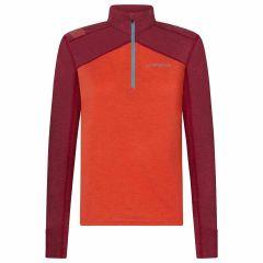 Ženska termo aktivna majica La Sportiva Swift - Paprika/Red Plum