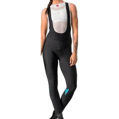 Ženske kolesarske hlače Castelli Velocissima Bibtight