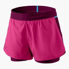 Ženske tekaške kratke hlače Dynafit Alpine Pro 2 in 1 - Flamingo
