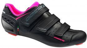 Ženski kolesarski cestni čevlji Gaerne Record Lady black