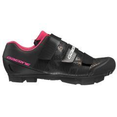 Ženski kolesarski MTB čevlji Gaerne G.LASER-Black/Fuxia