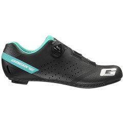 Ženski kolesarski cestni čevlji Gaerne G.TORNADO Carbon Lady-Black