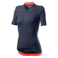 Ženski kolesarski dres Castelli Anima 3-Dark Steel Blue