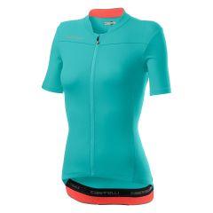 Ženski kolesarski dres Castelli Anima 3-Light Torquoise