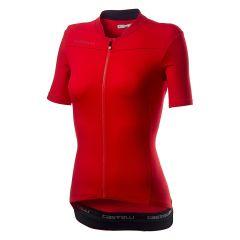 Ženski kolesarski dres Castelli Anima 3-Red