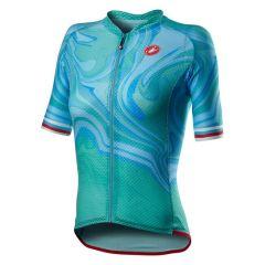 Ženski kolesarski dres Castelli Climbers 2.0 - Celeste