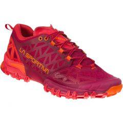Ženski tekaški čevlji La Sportiva Bushido II-  Beet/Garnet
