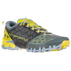 Ženski tekaški čevlji LaSportiva Bushido II-Clay/Celery