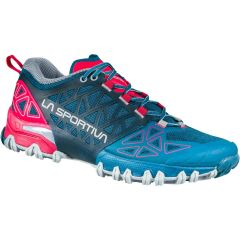 Ženski tekaški čevlji LaSportiva Bushido II - Ink/Love Potion
