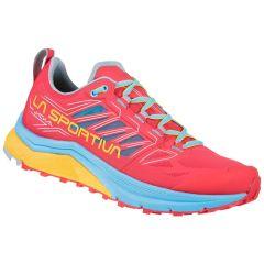 Ženski tekaški čevlji La Sportiva Jackal - Hibiscus/Malibu Blue