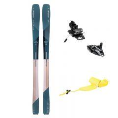 Ženski turni set Začetnik združuje vsestranski Ripstick z 88 milimetri pod čevljem, zmogljive vezi Dynafit Rotation 10, ki bodo navdušile s preprosto uporabo ter kvalitetne, vzdržljive kože Pomoca Climb 2.0.
