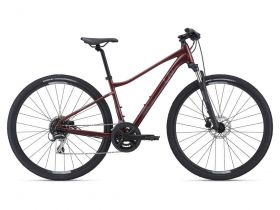 Žensko treking kolo Giant Rove 3 DISC DD 2021-Red Wine