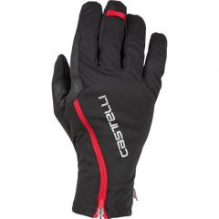 Zimske kolesarske rokavice Castelli Spettacolo RoS-Black