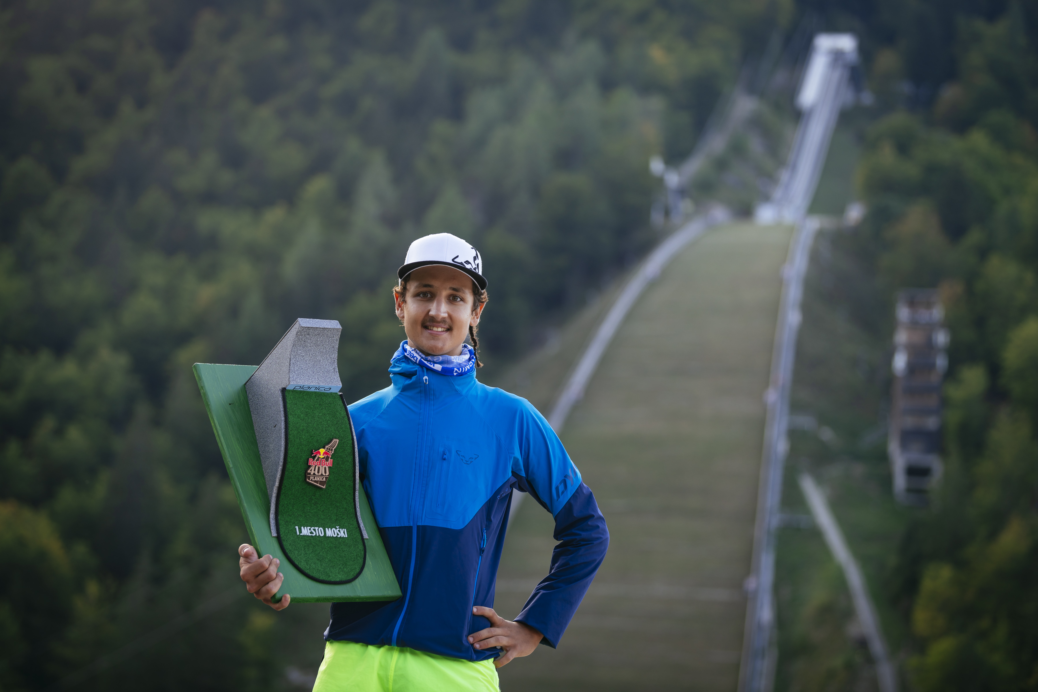 Luka Kovačič - pogumno proti svetovni eliti