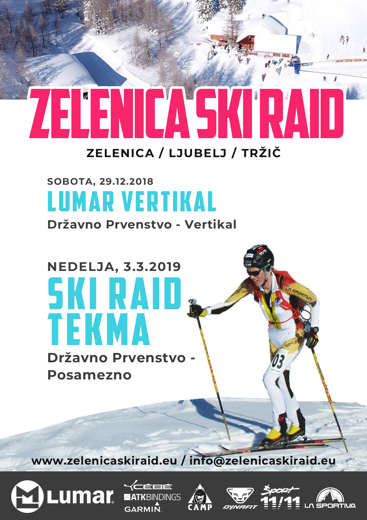 Zelenica Ski Raid in vikend zabave