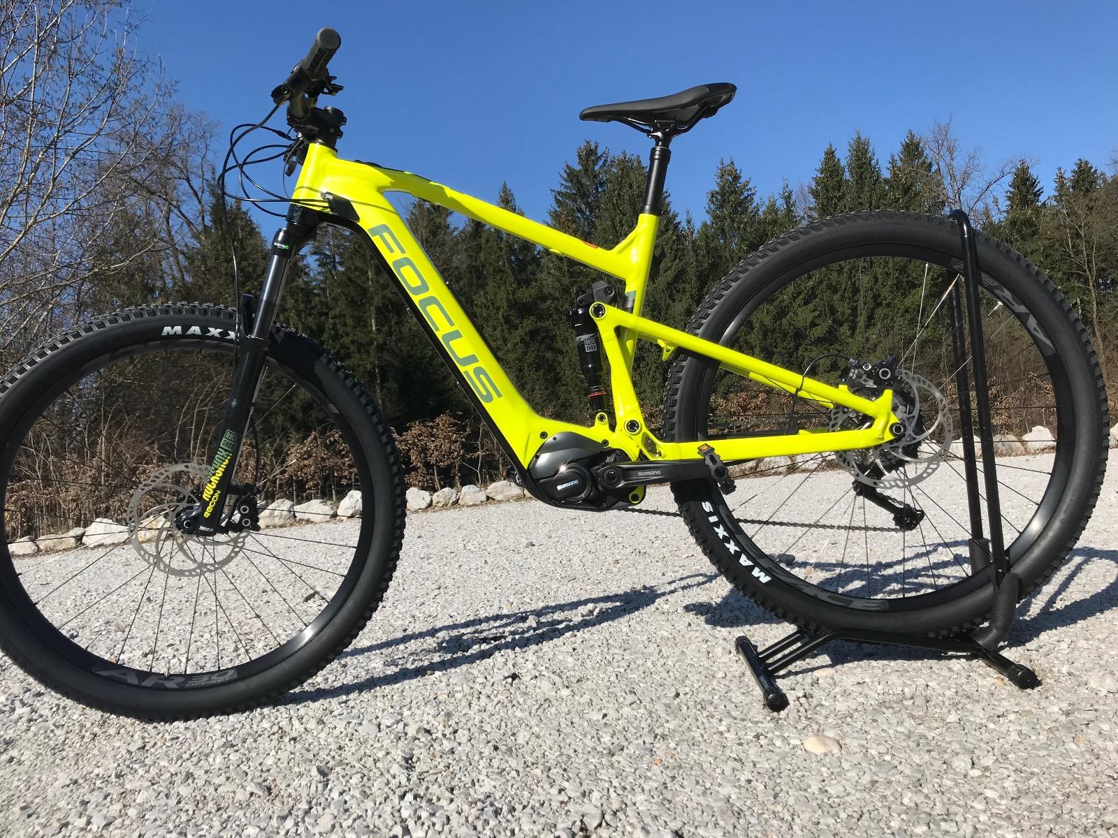 Test E-kolesa Focus