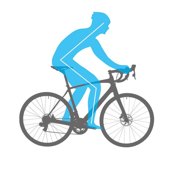 geometrija endurance cestnega kolesa