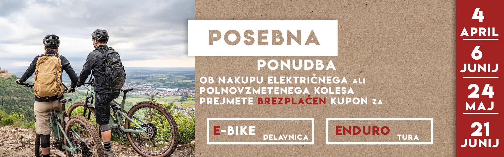 Posebna ponudba ob nakupu kolesa